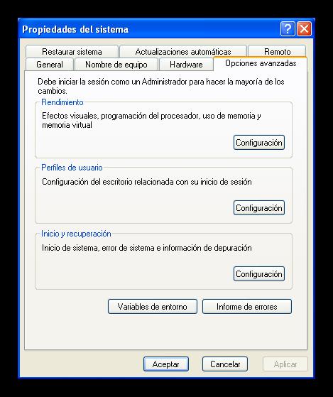 Windows Xp deshabilitar reinicio foto 1