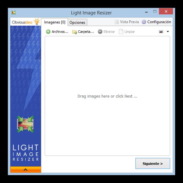 Redimensionar imagenes VSO Image Resizer foto 1