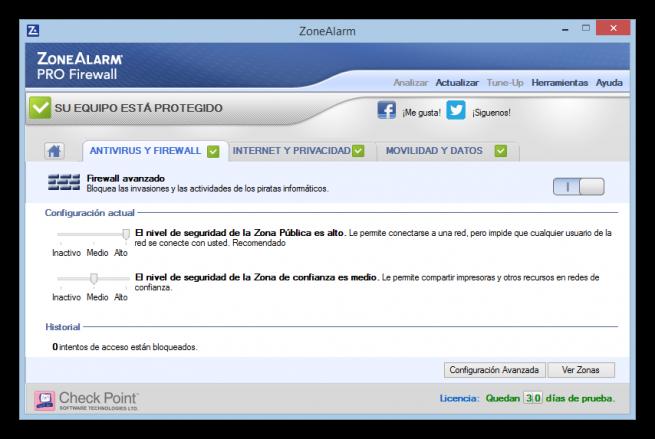 Configurar ZoneAlarm Pro tutorial foto 3