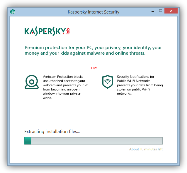 Kaspersky Internet Security tutorial foto 2