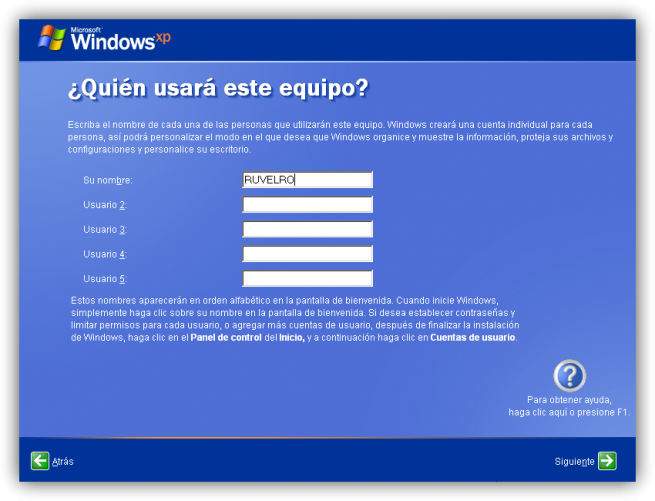 Tutorial instalacion windows xp foto 19