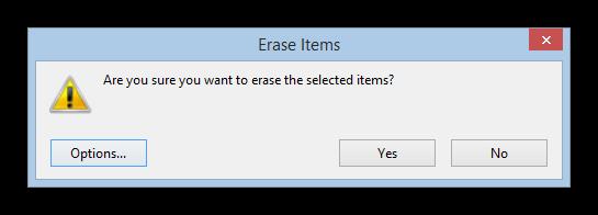 eraser borrar archivos de forma segura tutorial foto 2