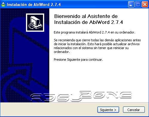 abiword-2-7-4-instalacion