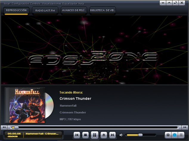 Kantaris Media Player Reproductor multimedia