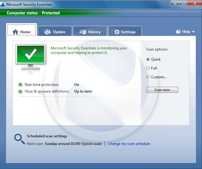 Microsoft Security Essentials supera al resto de antivirus