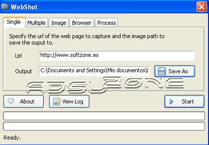 webShot captura pantalla