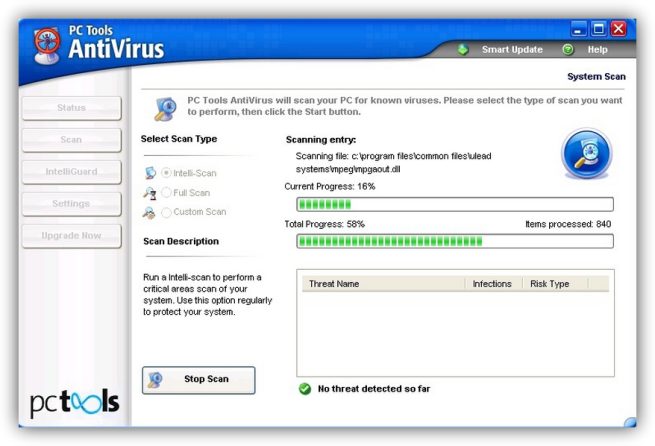 pc tools antivirus foto