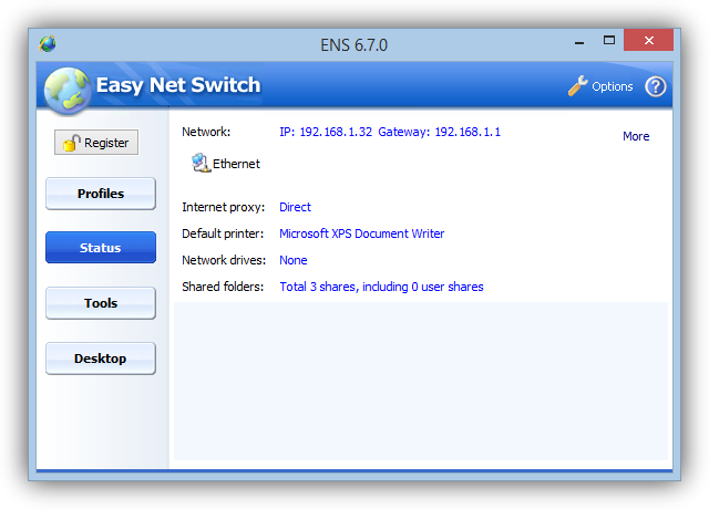 Easy Net Switch tutorial foto 2