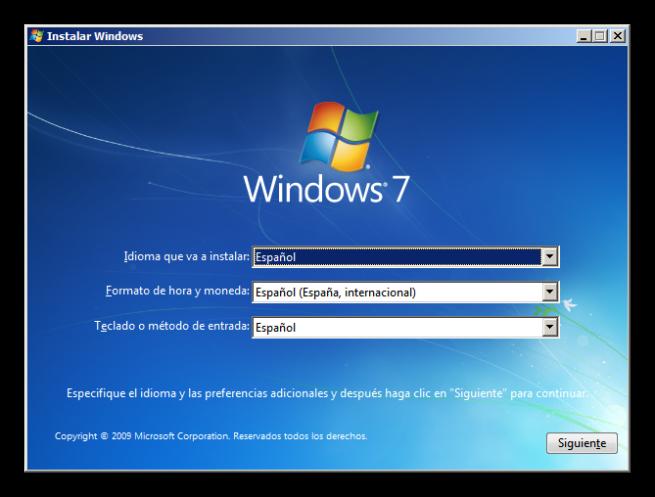 Tutorial instalar windows 7 foto 2