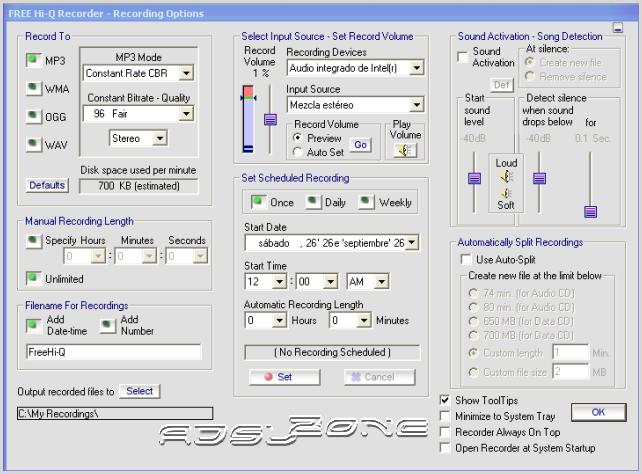 free-hi-q-recorder-options