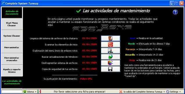 Programas Libres y GNU para probarlos y usarlos con Windows. Complete-system-tuneup-principal