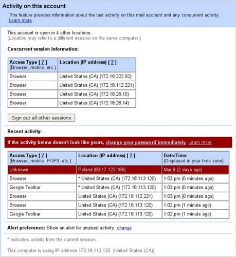 Gmail ahora es capaz de detectar actividades sospechosas en nuestras cuentas de correo Aviso_gmail2