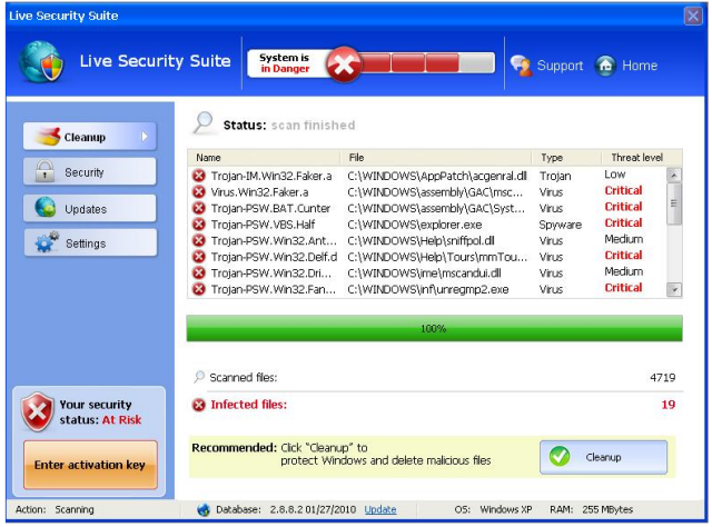 Live Security Suite Fake antivirus