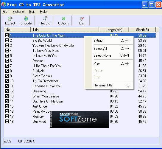 freecdtomp3convertercapturaprincipal2softzone