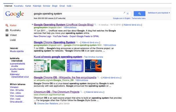 google nueva interfaz 2
