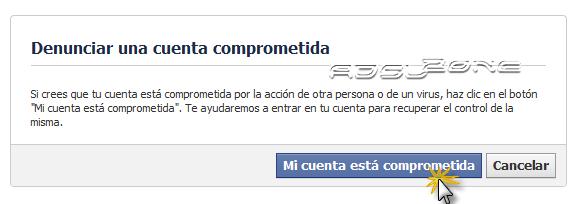 recuperar cuenta facebook
