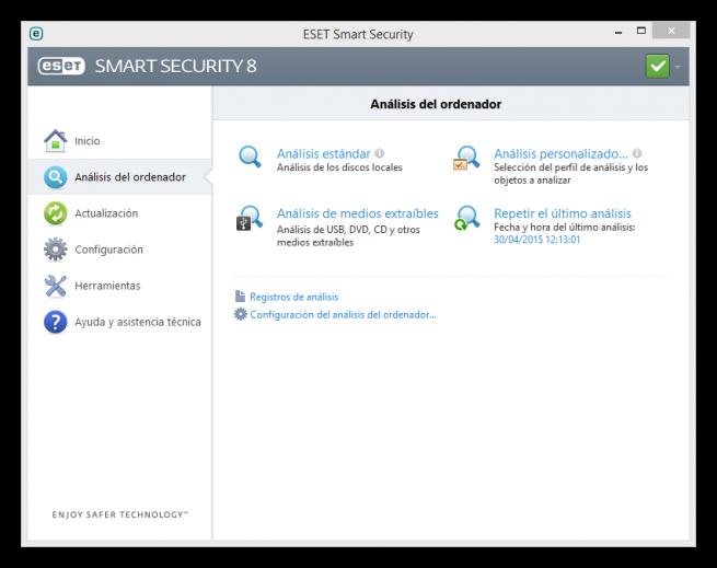 ESET Smart Security analisis foto 2