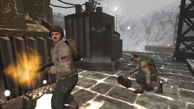 Wolfenstein Enemy Territory gameplay