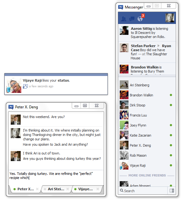 Facebook Messenger Windows