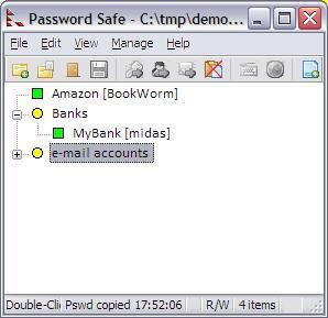 Password Safe Principal