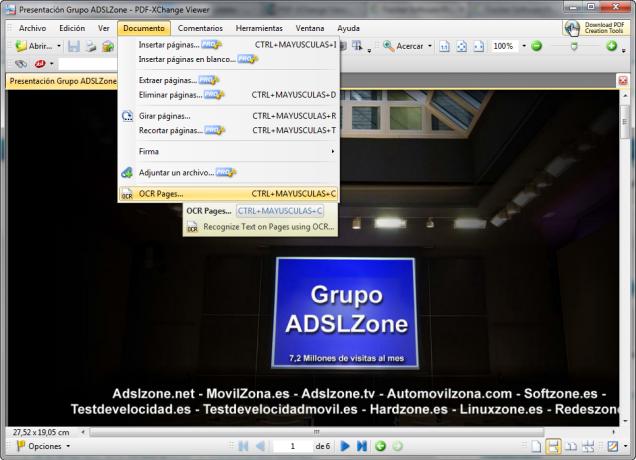 PDF Xchange Viewer principal