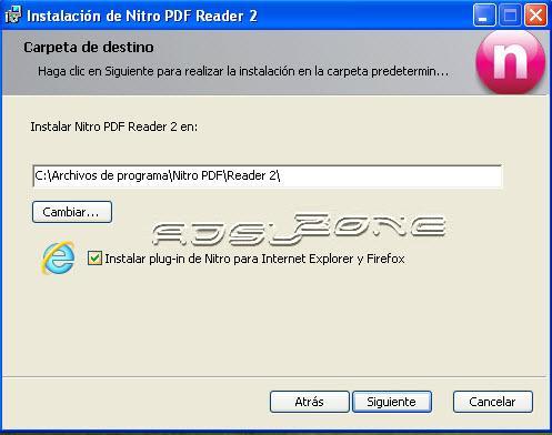 nitro pdf reader instalacion