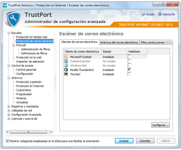 TrustPort Internet Security proteccion correo