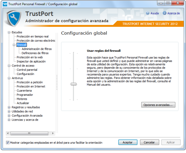 TrustPort Internet Security Firewall