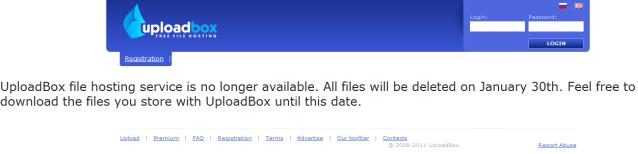 uploadbox cierre
