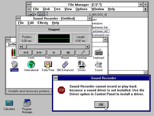 Windows 3.1 cumple 20 años desde su lanzamiento