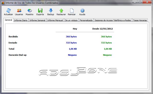 Networx interfaz
