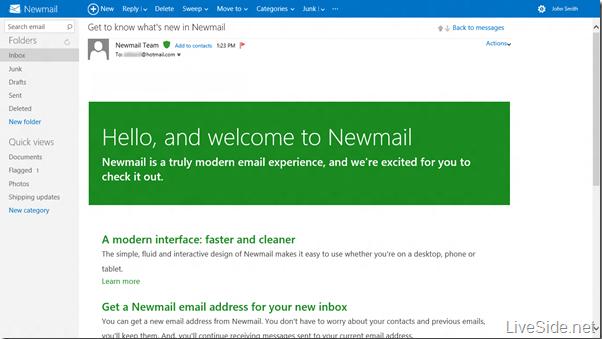NewMail Metro Captura 1