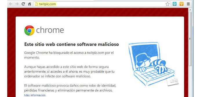 Ver noticia 'Google y Chrome impiden el acceso a páginas de Twitter por error'