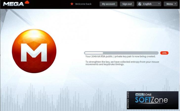Así es Mega, el nuevo Megaupload Interfaz-mega-y-cifrado