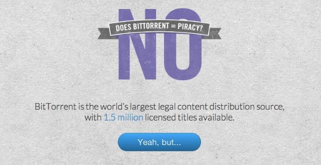 utorrent contra piratería