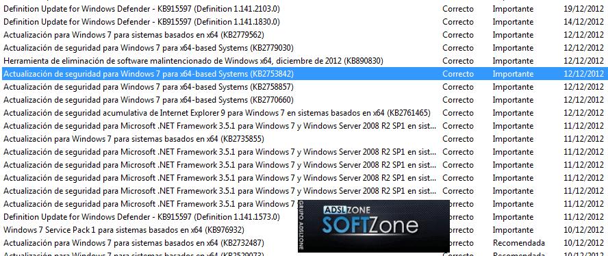 Problema Update Windows 2