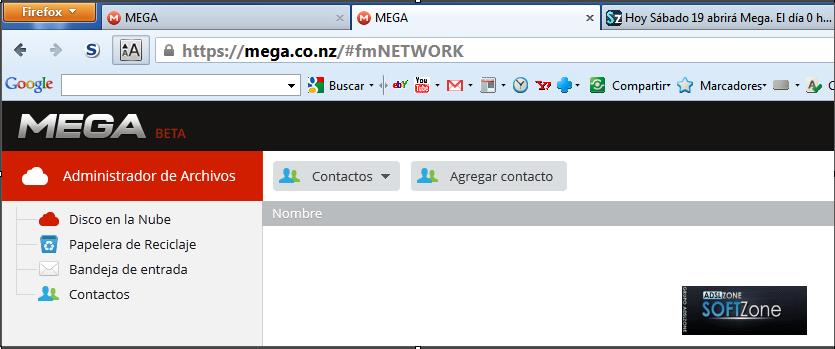 entrada mega firefox 18.0