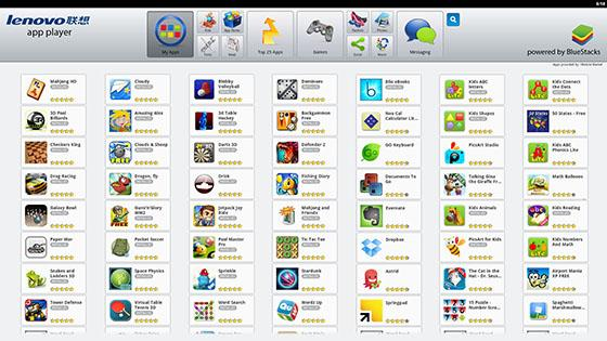 bluestacks app player lenovo