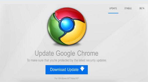 Google Chrome con malware