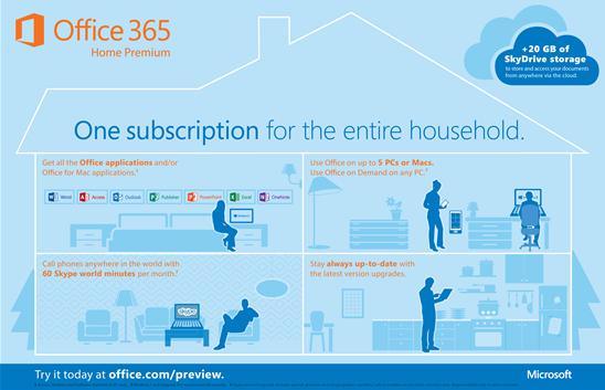 suscripciones office 365