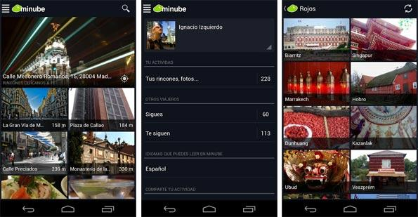 Minube para Android