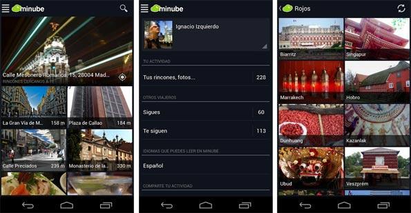 Minube para Android