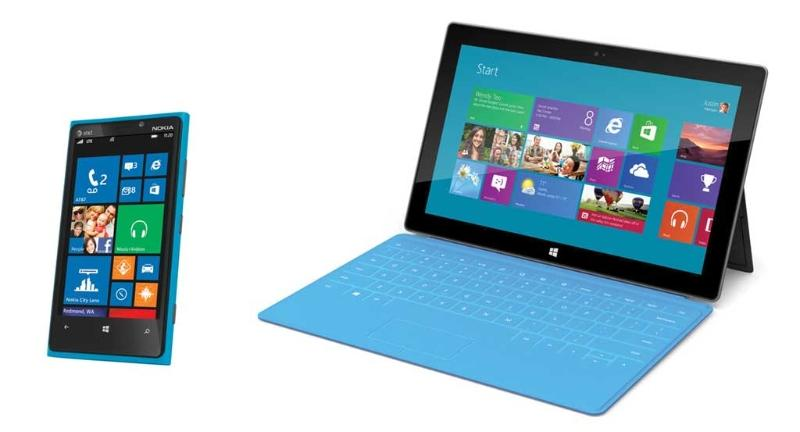 Lumia 920 con Surface