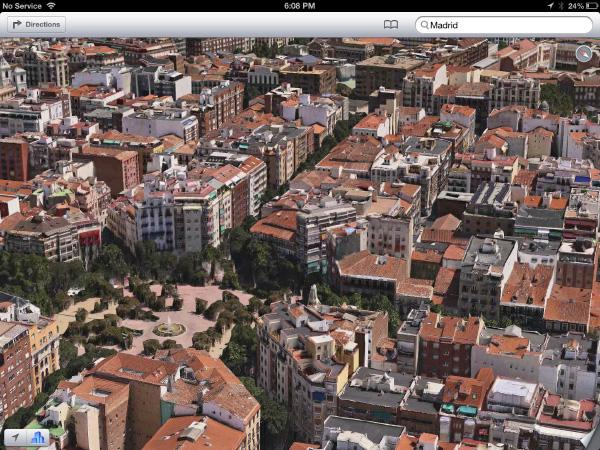 Apple Maps Madrid