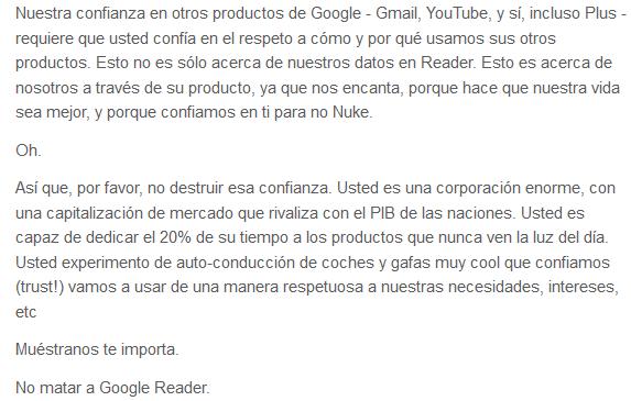 post dan lewis google reader