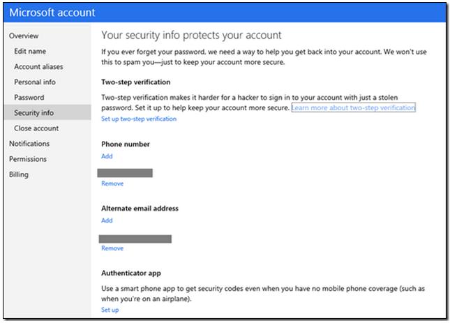 cuentas Microsoft