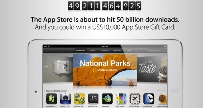 App Store llega a las 50.000 millones