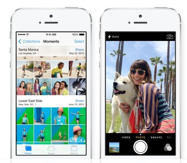 App de fotos y cámara