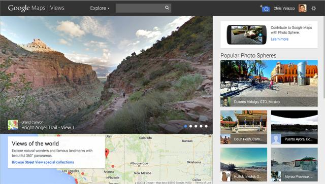 Google Maps View en Google Maps