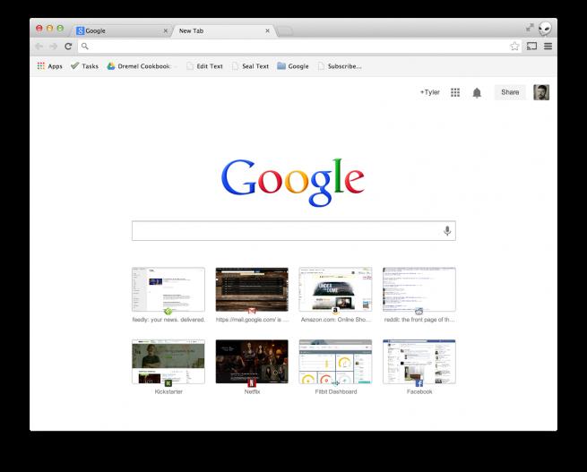 Nueva herramienta de Chrome